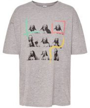 ONLY Printed T-shirt Women Grey