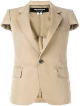 Junya Watanabe - Blazer a manica corta - women - Cotone/Polyester/Cupro - S, M - NUDE & NEUTRALS