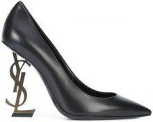 Saint Laurent - Opyum 110 pumps - women - Goat Skin/Leather/metal/Calf Leather - 35.5, 36, 36.5, 39, 37.5, 38, 38.5, 35, 37, 40, 40.5, 39.5, 41 - B...