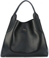 Lanvin - Borsa a mano 'Shopper' - women - Leather - One Size - BLACK