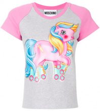 Moschino - T-shirt My Little Pony - women - Cotton/Other fibres - 40, 42, 44, 38 - GREY