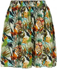 Y.A.S Floral Mini Skirt Women Blue