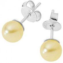 Pearls Colors &-Orecchini in argento 925 con Perle d'acqua dolce, BOMC23-PC