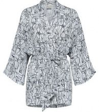 SELECTED Printed - Kimono Women White