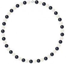 Pearls & Colors Collana di perle Donna argento 925_argento perla rotonda - AM17-COL-AG-R89-AR-WHBL