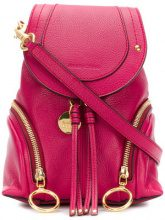 See By Chloé - Zaino 'Olga Small' - women - Leather - One Size - PINK & PURPLE