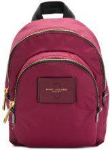 Marc Jacobs - mini Double zip backpack - women - Polyethylene - One Size - PINK & PURPLE