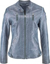 Giacca in similpelle effetto lavato (Blu) - John Baner JEANSWEAR