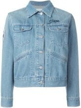 Isabel Marant Étoile - 'Purd' jacket - women - Cotone - 42 - Blu