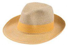 CaPO Capri HAT, Cappello da Sole Donna, Gelb (Sunflower 56), Medium