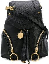 See By Chloé - Zaino 'Olga' - women - Leather/Calf Leather - One Size - Nero
