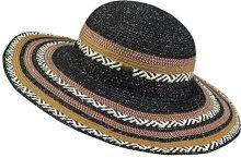 Barts Adios Hat, Cappello da Sole Donna, Multicolore (Nero/Marrone), Taglia Unica