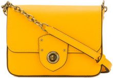 Lauren Ralph Lauren - Borsa a tracolla - women - Leather - OS - YELLOW & ORANGE