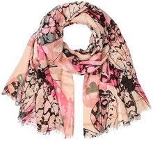 PIECES Pcmarlee Long Scarf, Sciarpa Donna, Multicolore (Brick Dust Brick Dust), Taglia unica