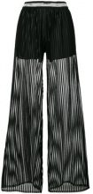 Just Cavalli - Pantaloni a campana - women - Viscose - 36 - Nero