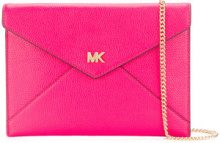 Michael Michael Kors - Clutch 'Ruby' - women - Leather - OS - PINK & PURPLE