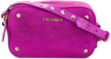 Twin-Set - Borsa a spalla - women - Polyester/Bos Taurus - OS - PINK & PURPLE