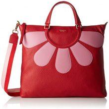 Tosca Blu Soft Daisy - Borse Tote Donna, Rot (Red), 6x35x40 cm (B x H T)