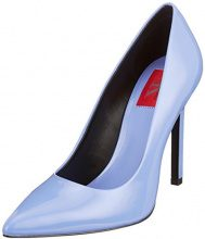 Calvin Klein Jeans Paige Patent Scarpe con Tacco Donna, Blu (Skb 000), 37 EU
