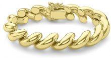 Carissima Gold Bracciale da Donna in Oro Giallo 9K (375), 20.32 cm