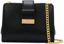 Visone - Margot shoulder bag - women - Leather - One Size - BLACK