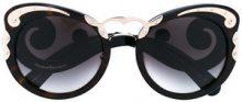 Prada Eyewear - Occhiali da sole cat-eye - women - Acetate/metal - 54 - BLACK
