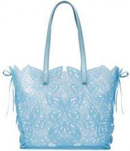 Sophia Webster - Borsa shopper 'Liara' - women - Calf Leather/PVC - OS - BLUE