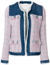 Pinko - Giacca - women - Cotton/Polyester/Acrylic - 44 - BLUE