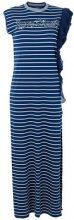 Pinko - Vestito lungo a righe - women - Cotton/Polyester - S, M - BLUE