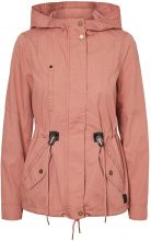 VERO MODA Short Transitional Parka Coat Women Red