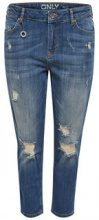 ONLY Liva Destroy Boyfriend Jeans Women Blue