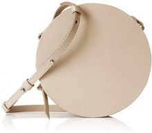 Royal RepubliQ Galax Round Evening Bag, Donna Borse a spalla, Bianco Sporco (Nude) 5x16x16 cm (B x H x T)