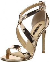 Office Harper, Scarpe con Cinturino Alla Caviglia Donna, Pink (Rose Gold), 39 EU