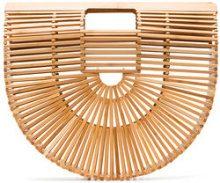 Cult Gaia - Borsa 'Ark' - women - Wood/Bamboo - One Size - NUDE & NEUTRALS
