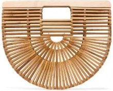 Cult Gaia - Clutch 'Ark' - women - Wood - OS - Color carne & neutri