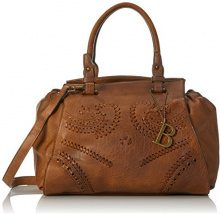Bulaggi Izaks Handbag - cartella Donna, Braun (Kognak), 24x15x30 cm (B x H T)