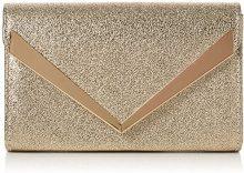 SwankySwans Tina Envelope Sparkle - Pochette da giorno Donna, Oro (Champagne), 5x14x22.2 cm (W x H x L)