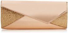 SwankySwans Casey Patent Leather Glitter - Pochette da giorno Donna, Oro (Gold), 5x12x28 cm (W x H x L)