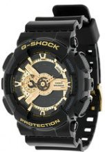 G-Shock - Orologio automatico rotondo - men - Steel/rubber - One Size - BLACK