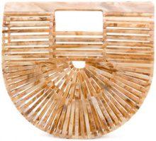 Cult Gaia - Borsa tote Ark mini - women - Acrylic - One Size - NUDE & NEUTRALS