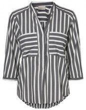 VERO MODA Striped 3/4 Sleeved Shirt Women Black