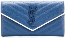 Saint Laurent - Portafoglio 'Lou Lou' - women - Calf Leather - OS - BLUE