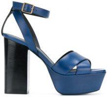 Saint Laurent - Sandali 'Farrah 80' - women - Leather - 35, 35.5, 37, 39, 40 - BLUE