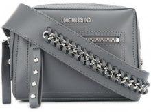- Love Moschino - Borsa a tracolla - women - Polyurethane - Taglia Unica - di colore grigio