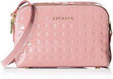 Arcadia Elisabeth, Borsa a Mano Donna, Rosa (Rosa Antico), 6x15x22 cm (W x H x L)