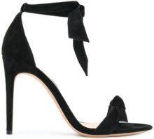 Alexandre Birman - Sandali con fiocco - women - Calf Leather/Leather/Suede - 36, 37, 37.5, 38, 38.5, 39, 39.5 - BLACK