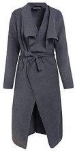 Kate cappotto con cintura e colletto sciallato