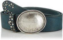 MGM - Paris, Cintura da donna, blu (petrol 2), 85 cm (Taglia produttore: 85)