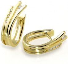 Goldmaid Orecchini da Donna Oro giallo Brillante Diamante