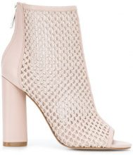 Kendall+Kylie - Galla boots - women - Calf Leather/Leather/Sheep Skin/Shearling - 36, 37, 37.5, 38, 39, 40 - PINK & PURPLE
